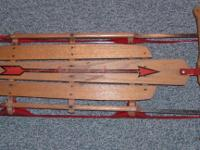 THIS VINTAGE FLEXIBLE FLYER SLED IS IN EXCELLENT