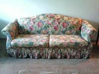 This couch has had a cover over it for years, in great