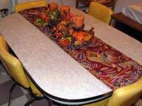 "Fab 50""s Cracked Ice Grey Formica & Chrome Table ... ("