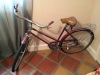 I am moving and am wanting to sale one of my bikes. It