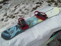 I have a vintage FREERIDE 145 snowboard with a dragon