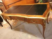 A fine French Louis XVI bureau plat. Made from
