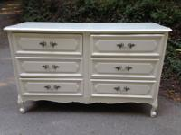 This stunning shabby trendy dresser from the Henry Link