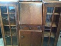 Antique Secretary desk - (1930's) $100 Shabby Sheik