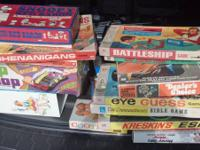 I have a huge lot of vintage parlor game from the late