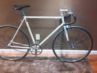 This is an extremely rare bike. It has been converted