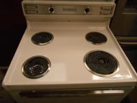 Hotpoint 40 Inch Vintage Electric Range 4 Coil Burners 3