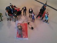 Vintage GI Joe lot from the early to mid 1980's. The