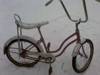 Great winter restoration Project. Has surface rust, but