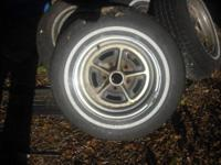 "I have a set (4) of vintage 14"" GM rally wheels that"