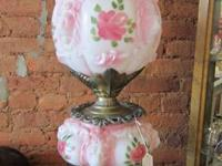 Classic Gone with the Wind Lamp, c. 1960's.