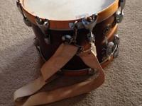 Vintage Gretsch snare drum. Was used in High School