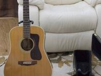1977 vintage guild D40 guitar, serial #159940, with