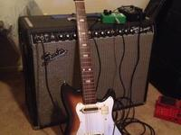 Vintage Kent (Guyatone/Teisco) Japanese guitar from the