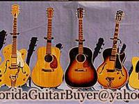 I will buy your vintage electric guitar, acoustic