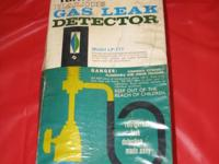 Turner Gas leak Detector Model #LP-777 Provides