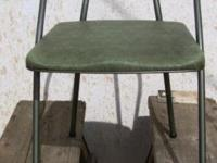 Vintage Hamilton Cosco Metal Folding Chair Model