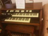 This organ is a Hammond L-100, meanings it was made