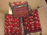 2 Saudi Arabian Camel Bags.  Purchased in Hofuf, Saudi