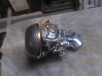 I have a very nice chrome carburetor that came off a