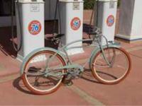 1939 Hawthorne wheels have been powder-coated with