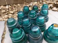 These green insulators are $5 each, or a deal on the