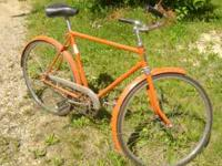 For sale is a vintage Hercules Bike from England. It is