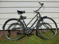 Vintage 1972 women's Hercules English 3 speed. 26""