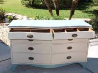Gorgeous shabby chic style piece of furniture. From the