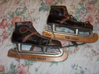 leather hockey skates don't know what size $25