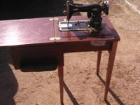 Hi , up for sale is the sewing machine pictured below.