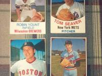Hostess baseball cards from the 70's that came on the