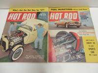 * * NINE (9),......Vintage Hot Rod Magazines, Brook