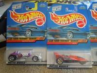 Full set of four (4) Hot Wheels, the Car-Toon Friends