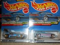 Full set of four (4) Classic Games Series cars from
