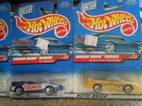 Full set of four (4) Sugar Rush Series Hot Wheels from