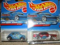 Full set of four (4) Surf 'n Fun Series cars from 1998,