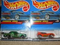 Full set of four (4) Terrorific Series Hot Wheels from