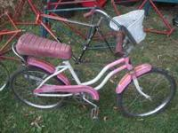 I have a vintage Huffy bike for sale. This bike needs