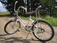 Vintage Huffy Desert Rose Banana Seat Bike This bike is