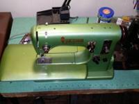 Husqvarna Viking sewing device from the 50's. It's a