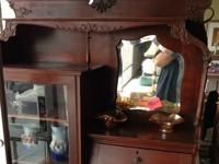 Absolutely beautiful vintage hutch hand made and in