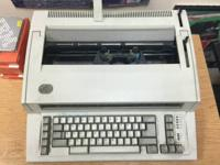 Vintage IBM Personal Wheelwriter 2, ribbons and