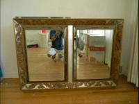 Vintage hutch for sale to the right person. The mirror