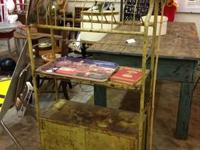 Vintage Industrial Automotive Rack $220 Booth 766 Lula