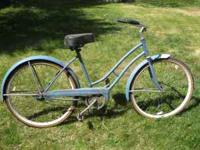 "i am selling a vintage jchiggins 26"" ladies bike if you"