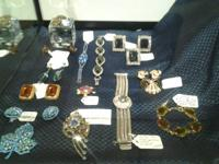 I have a nice choice of vintage jewelry ranging in cost
