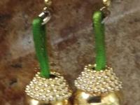 Vintage JINGLE BELL EARRINGS *JINGLE AS YOU WALK*  Add