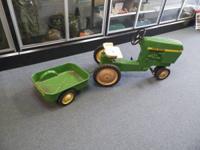 Vintage John Deere Model # 520 Pedal Tractor w /