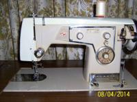 Kenmore Model 48 Automatic Zig-Zag Sewing Machine in